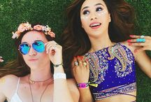 YouTube celebriters / These girls are my best!♡ My favourites are Eva and Alisha and Bethany Mota