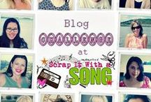 SIWAS DT Reveal|SIWAS設計團隊示範作品 / Scrap It With a Song challenge blog: http://scrapitwithasong.blogspot.tw/