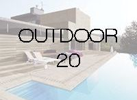 ⇢ OUTDOOR 20 / With Outdoor 20, TAU is offering to its clients INTEGRAL CERAMIC SOLUTIONS for OUTDOOR.