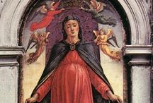Vierge enceinte  / by Berthiaud E.