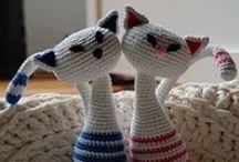 crochet cats / by Judith K James