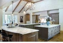 Kitchens That Sizzle / Epicurean's dream kitchens for the chef in all of us!