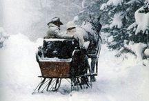 Winter Wonderland / Schneegestöber und kuschelige Nachmittage vor dem Kamin...