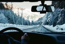 R o a d t r i p p i n ' / On the road way to somewhere magnificent.