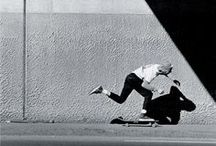 P u s h  M o r e , D r i v e  L e s s / Skateboarding or longboarding, whatever works for you.