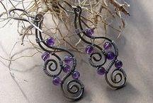 Wire jewelery - tutorials and inspiration