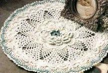 Crochet Doilies/Tablerunners/Tablecloths