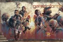 video game magazines/companies/consoles/arcade and video game characters / by James Foreshee