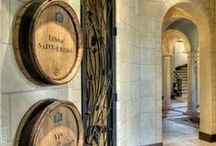 Cheers To The Wine Cellar / A toast to these exquisite wine cellars, wine grottos and tasting tables.