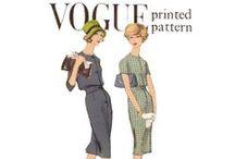 18.Vintage fashion / I love it♡♥♡♥vintage pattern/vintage dress/vintage illustration / by roy Kim