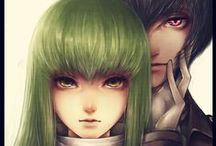 Anime Code Geass and Cosplay