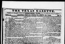 Early Texas Newspapers / The Early Texas Newspaper Collection is a collaboration between UNT and UT's Dolph Briscoe Center for American History. The project provides access to 12,280 pages of Texas newspaper pages that date as early at 1829. Newspapers from other Portal partners are also included here.