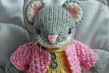 souris en tricot