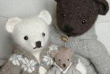ours en tricot