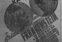 Movies / Historic movie ads found in the newspaper collections on the Portal to Texas History