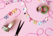 Wonderful washi tape / Awesome washi and decorative tape crafts & ideas