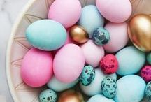 Pretty Easter / Easter bunnies, eggs, decor, cards, tags, wrap, chicks etc...