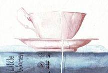 Cup of tea / the happy feeling of a 5o´clock tea