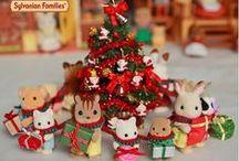 Les Sylvanian fêtent Noël !