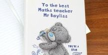 Personalised Teacher Gifts / End of term gifts for Teacher's