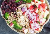 Saláták, gyümölcssaláták
