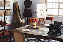 Sewing rooms / Interior for sewing rooms, ideas to make a creative working space