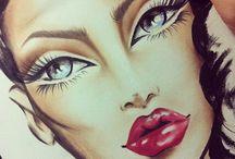 Make-Up Looks / by Jennifer Rose