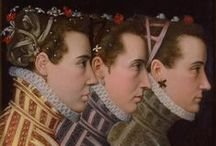 Fashion before the 1700s / Shown in paintings and a few photos of actual garments. / by Karen Graffius