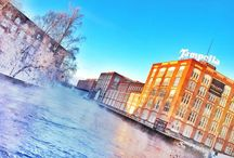 Tampere when it snows