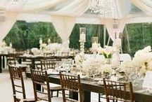 Wedding with a touch of romance...... / A romantic wedding in every detail. Find here the ideas