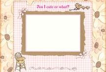 Baby Scrapbooking Ideas / Lots of inspiration and scrapbooking ideas for your baby scrapbook page layouts.