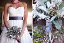 Grey wedding inspiration / Grey! A beautiful colour. Use it with other colours like yellow, blue,  red, pink, purple, white. Or another colour! Use your creativity!