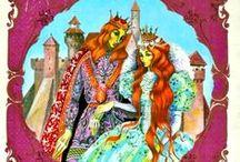 Vintage Fairy Tales Illustrations