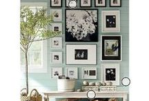 Cute Decorating and Inspirational Ideas / Decorations for offices, organizing the house and zen living spaces.