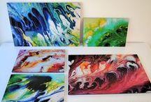 "Fluid acrylics! / Series ""Fluid acrylics"": emotional fluid paintings by Astrid Stöppel - Astrid Stoeppel. More here: http://astridstoeppel.com/"