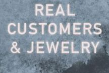 Real Customers & Jewelry / Check out real people wearing Maria Tash jewelry.