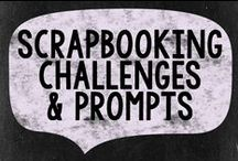 Challenges & Prompts / Challenge prompts to spark your creativity! This is a group board for scrapbooking sites that host challenges and prompts. If you'd like an invite, see the RLS website: http://reallifescrapped.com/opportunities/pinterest-group-boards/ / by Real Life Scrapped
