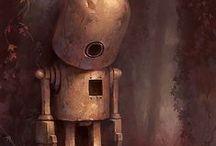 Robot - Goofy
