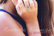 Diva Woman / Jóias em Prata e Ouro num estilo incrível e sofisticado.