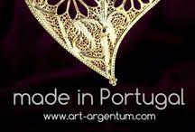 Filigrana Portuguesa / Portuguese Filigree / Jóias em Prata e Ouro num Estilo Tradicional Português, elaboradas com a Arte da Filigrana.