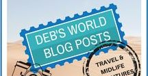 Deb's World Blog Posts / My blog posts! I post about lots of quirky things - being made redundant, reading, travels, adventures, photographs I've taken, running, quotes!  Come visit me at www.debs-world.com