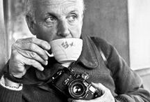 """Photo: Cartier Bresson / """"Fotografar, é colocar na mesma linha, a cabeça, o olho e o coração."""""""