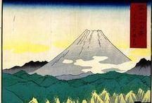Hiroshige - Thirty-six Views of Mount Fuji