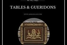 Fine Antiques #Tables & #Gueridons / A magnificent collection of antique tables and gueridons. For more information on these items please visit our website: http://www.adrianalan.com/