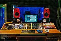 Nahrávací studio Esorecording / Recording studio, Mladcová, Zlín
