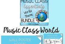 Back to School Elementary Classroom Decor, Games, Songs / elementary music teacher must have songs, games, chants, decor and planning for the new school year. Elementary games, songs, chants for the new school year.