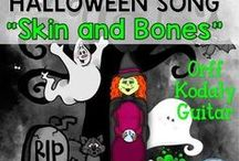 Halloween Music Class Activities for the Elementary Music Teacher / Elementary Music Class Activities for Halloween