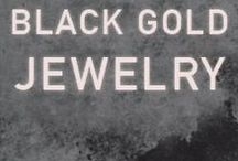 Black Gold Jewelry / Shop Maria Tash's extensive selection of black gold pieces.