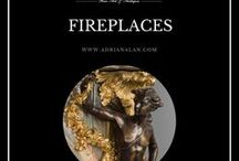 Fine Antiques #Fireplaces / A magnificent collection of antique fireplaces and accessories of the hearth. To discover more about these items please visit our website: http://www.adrianalan.com/