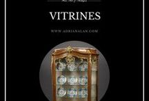 Fine Antiques #Vitrines / An impressive selection of antique vitrines. For more information please visit our website: http://www.adrianalan.com/